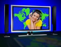 World music Royalty Free Stock Image