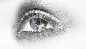 World in my eyes Royalty Free Stock Image