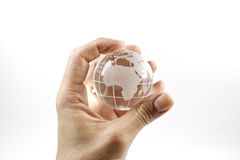 The world in my hand Royalty Free Stock Image