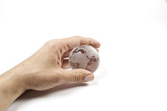 The world in my hand Stock Photos
