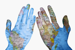 The World in my Hands Stock Images