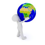 The world in my hands Royalty Free Stock Photography