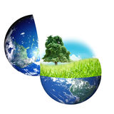 World and nature concept Royalty Free Stock Image
