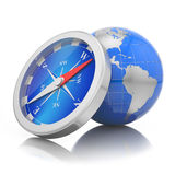 World navigation concept Royalty Free Stock Photo