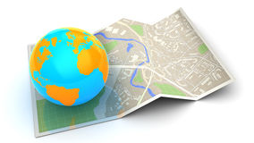 World navigation Royalty Free Stock Image