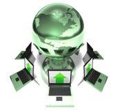 World network Stock Image