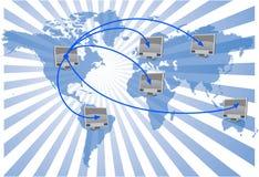 World network Stock Photo