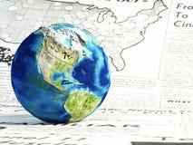 World news Stock Image