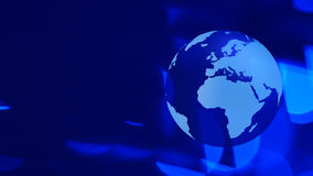 World news abstract background stock footage