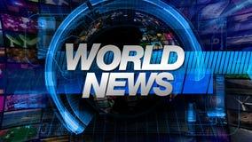 World News - Broadcast Graphics Title