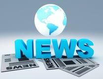 World News Stock Photography