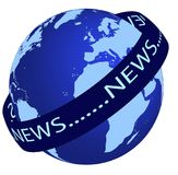 World News logo Stock Images
