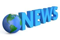 World news symbol Stock Photography