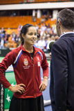 World No 6 tennis player Ana Ivanovic Royalty Free Stock Photo