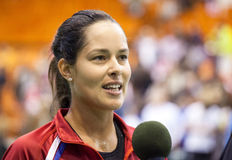 World No 6 tennis player Ana Ivanovic Royalty Free Stock Photo