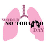 World No Tobacco Day Royalty Free Stock Photos