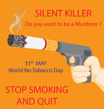 World No Tobacco Day Royalty Free Stock Image