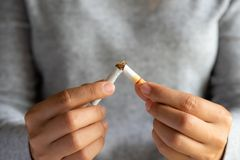 World No Tobacco Day, May 31. STOP Smoking. royalty free stock photography