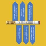 World No Tobacco Day royalty free illustration