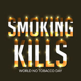 World no tobacco day Royalty Free Stock Photography