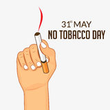 World no tobacco day Royalty Free Stock Images