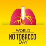 World no tobacco day Royalty Free Stock Photo