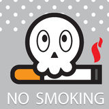 World No Tobacco Day vector Royalty Free Stock Image