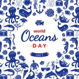 World Ocean Day 8 June Royalty Free Stock Images