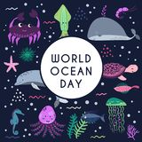 World ocean day. Element of image furnished by NASA Stock Photo