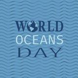 World oceans day Stock Photo