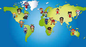 Free World Of Children Royalty Free Stock Images - 14987919