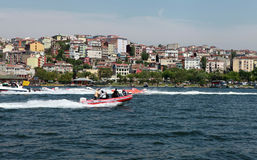 WORLD OFFSHORE CHAMPIONSHIP IN ISTANBUL. Stock Photos