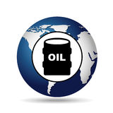 World oil industry consumption oil barrel Stock Photo