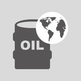 World oil industry consumption oil barrel Royalty Free Stock Photography