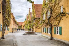 World Oldest Social Housing In Augsburg, Germany Stock Images