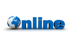 The world online Stock Image