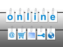 World Online Concept Royalty Free Stock Photo