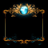 World with ornate Stock Photography
