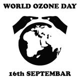 World Ozone Day.Vector illustration Stock Photography