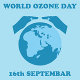 World Ozone Day.Vector illustration.  Royalty Free Stock Image
