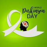 World Parkinson Day. Royalty Free Stock Photo