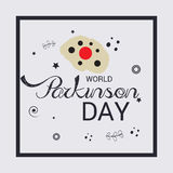 World Parkinson Day. Royalty Free Stock Images