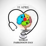 World Parkinson Day. Stock Image