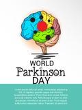 World Parkinson Day. Royalty Free Stock Photos