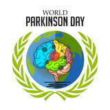 World Parkinson Day. Royalty Free Stock Image