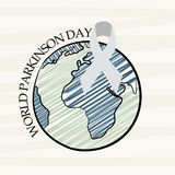 World Parkinson Day. Illustration of a Banner for World Parkinson Day stock illustration