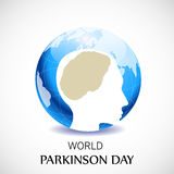 World Parkinson Day. Illustration of a Banner for World Parkinson Day royalty free illustration