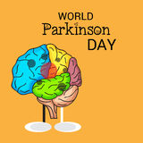 World Parkinson Day. Stock Images