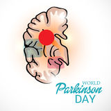 World Parkinson Day. Royalty Free Stock Photography