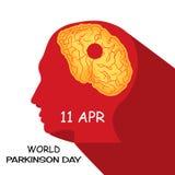 World Parkinson Day. Stock Photos